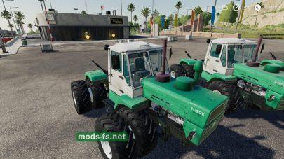 T150KGreen mod FS 19