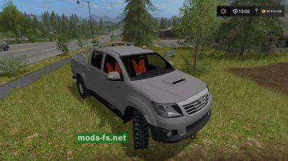 ToyotaHiluxTP для FS 19