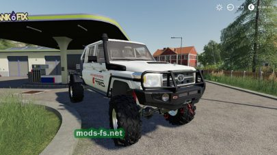 Мод на Toyota Land Cruiser 70