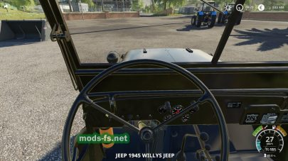 МодWillysJeepдля Farming Simulator 2019