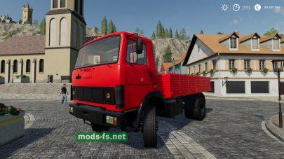 Мод для МАЗ-5337