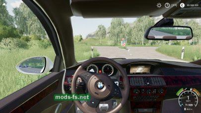 Скриншот мода BMW M5 E60