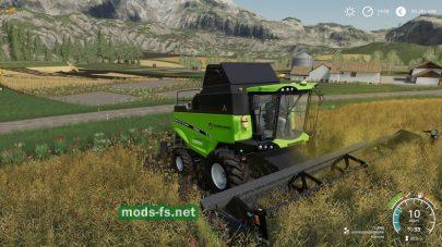 DEUTZ-FAHR C9300для Farming Simulator 2019