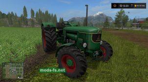 Мод трактора без кабины DEUTZ