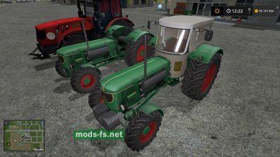 Мод трактора DEUTZ