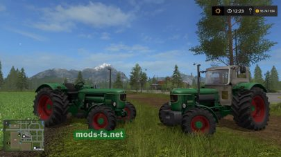 DEUTZ для Farming Simulator 2017