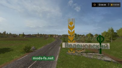 Vedenovka map 17