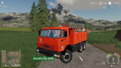 КамАЗ-65115-049 для Farming Simulator 2019