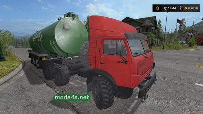 КамАЗ-4310 6Х6 MR для Farming Simulator 2017