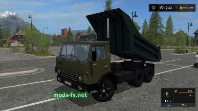 kamaz-55111 mod FS 19