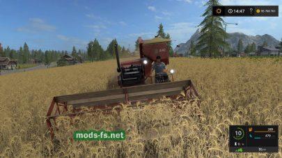 Комбайн «Сталинец» в Farming Simulator 2017