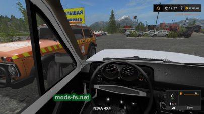 Нива 2121 в Farming Simulator 2017