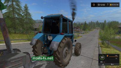 МТЗ-82 UK Белорус