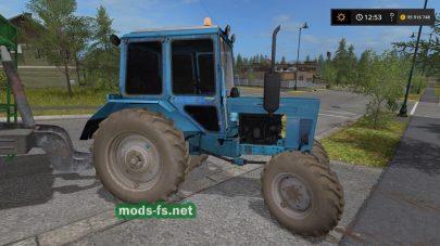 Мод трактора МТЗ-82 UK