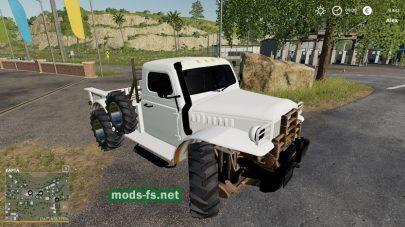 1940'SPower Wagon для FS 2019