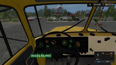Мод на грузовик УРАЛ-5557