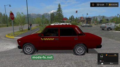 vaz_2107 taksi