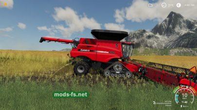 CaseIH в игре Farming Simulator 2019