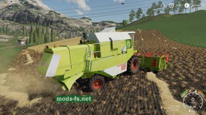 ClaasDominator106 для Farming Simulator 2019