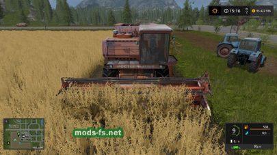 Дон-1500 для Farming Simulator 2017