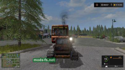 Мод на трактор ДТ-75