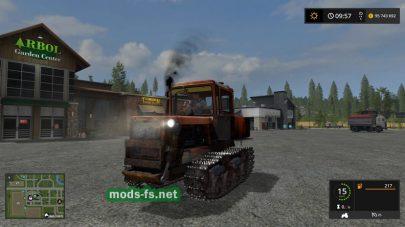 dt-75 в игре Farming Simulator 2017