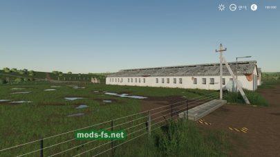 Старая ферма СССР в игре Фермер Симулятор 2019