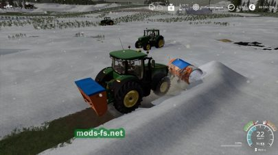 Техника для уборки снега в Farming Simulator 2019