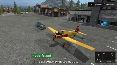 HummelZ-37FlyingFertilizerSpreader