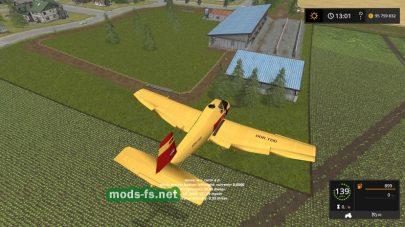 Мод самолета