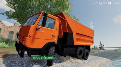 kamaz-55111 mod FS 2019