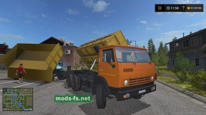 kamaz-55102 mod FS 17