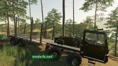 КрАЗ-7634НЕ mod FS 19