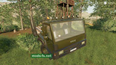 КрАЗ-7634НЕ в игре FS 2019
