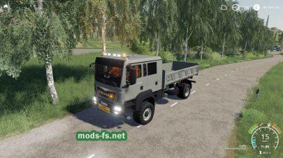 Мод на грузовик ManTGM 41480