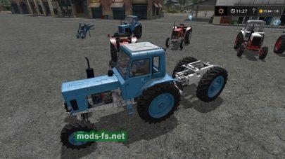 Мод на трактор МТЗ-500 «Беларус»
