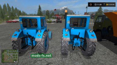 Мод на трактор МТЗ