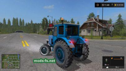 Мод на трактор Беларус