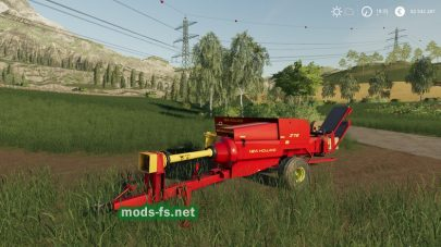 New Holland 378 Baler With Options для FS 2019