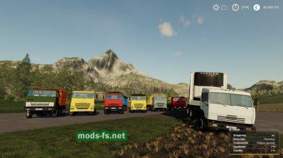 Подборка грузовиков КамАЗ