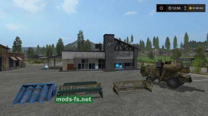 RostselmashNivaSK5 для Farming Simulator 2017