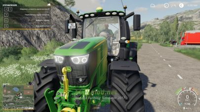 John Deere 6R для Farming Simulator 2019