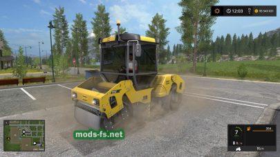 DynapacCC2200 в Farming Simulator 2017