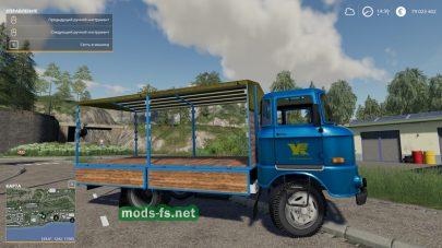 Мод на грузовик IFA W50