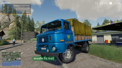 Мод на IFA W50 L/SP With