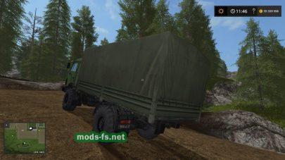kamaz 4×4 mod