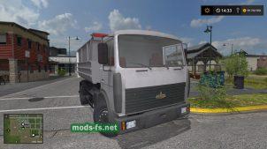 Мод на грузовик МАЗ-5551