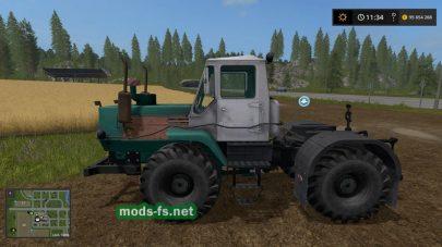 Мод на советский трактор Т-150