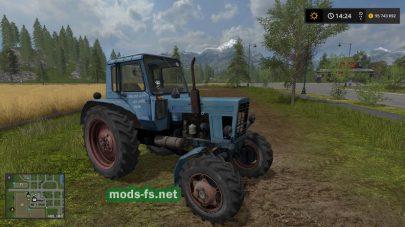 Старый МТЗ-82 в FS 17
