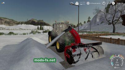 Машина для уборки снега NMC 320HProSnowBlower
